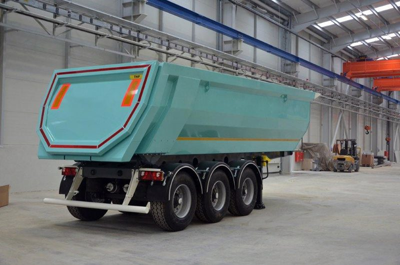 Hardox Tipper Trailer