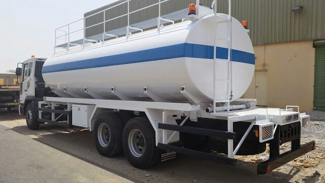 water tanker white product