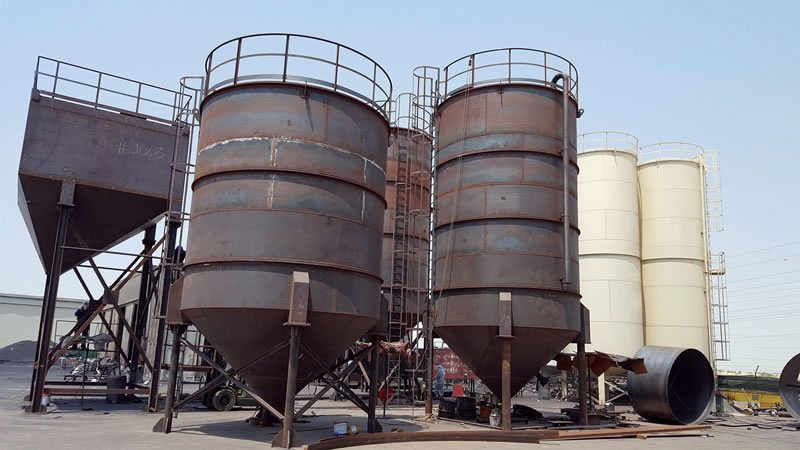 Cement Silo Manufacturers In Uae Stainless Steel Silo